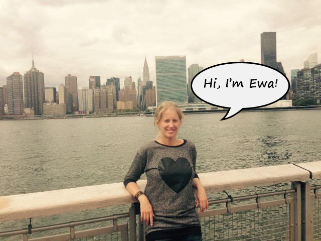 Hi, I'm Ewa